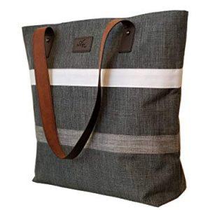 Aleah Wear Shoulder Tote Bag Purse Handbag For Women | For Work School Travel Business Shopping